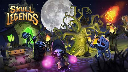 Materia Works - Empresa de Desarrollo de Videojuegos - Skull Legends
