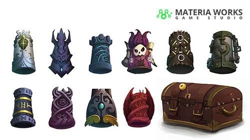 Materia Works - Arte 2d y 3d para Videojuegos - Concept Art - 04