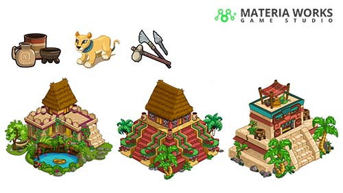Materia Works - Arte 2d y 3d para Videojuegos - Interfaz y Artes Finales 2D - 02