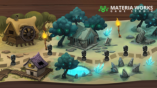 Materia Works - Arte 2d y 3d para Videojuegos - Interfaz y Artes Finales 2D - 03