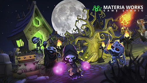 Materia Works - Arte 2d y 3d para Videojuegos - 3D para Videojuegos, Realidad Virtual y Realidad Aumentada - 01