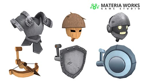 Materia Works - Arte 2d y 3d para Videojuegos - 3D para Videojuegos, Realidad Virtual y Realidad Aumentada - 10