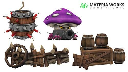 Materia Works - Arte 2d y 3d para Videojuegos - 3D para Videojuegos, Realidad Virtual y Realidad Aumentada - 12