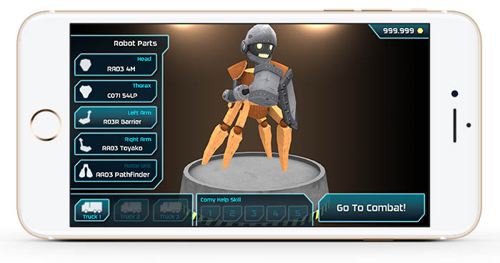 Materia Works - Empresa de Desarrollo de Videojuegos - Comboids - Screen 03