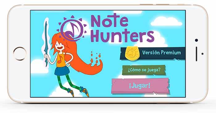 Materia Works - Empresa de Desarrollo de Videojuegos - Note Hunters - Screen 01