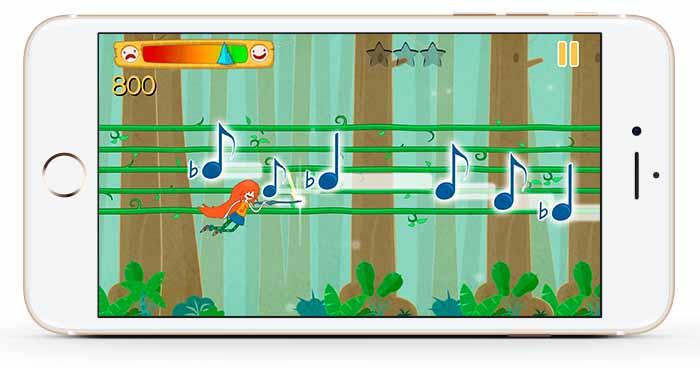 Materia Works - Empresa de Desarrollo de Videojuegos - Note Hunters - Screen 02